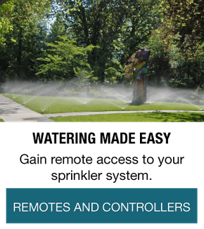 Watering Made Easy | Gain remote access to your sprinkler system. | Remotes and Controllers